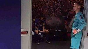 La imagen de Messi abatido que ha dado la vuelta al mundo