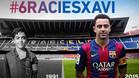 La imagen que ha creado el FC Barcelona para despedir a Xavi Hernández