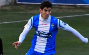 Jesús Alfaro, jugador del Alcoyano, puede ser en breve futbolista del Barça