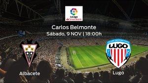 Jornada 15 de la Segunda División: previa del duelo Albacete - Lugo