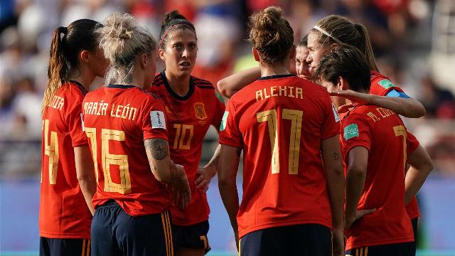 Las jugadoras de La Roja analizan la derrota ante Estados Unidos