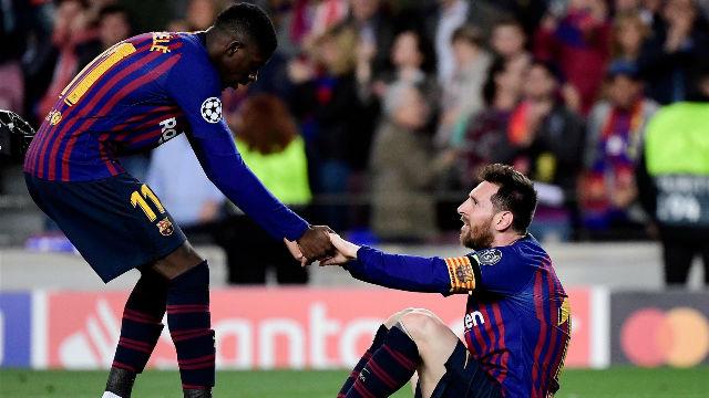 Leo Messi: Dembélé tiene que dar un salto adelante