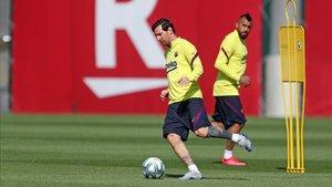 Leo Messi ha mostrado su compromiso con el FC Barcelona