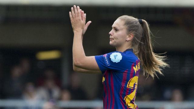 Lieke Martens: Me motivan los partidos con premio