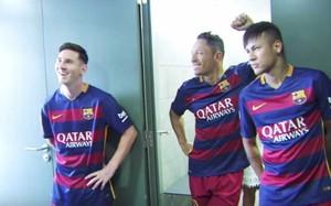 ecaa51b234 Este es el  making of  de la sesión fotográfica de los jugadores del FC  Barcelona