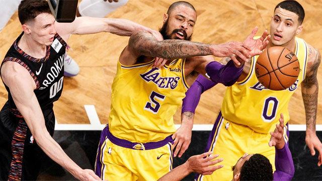 Los Nets sorprenden a los Lakers en Brooklyn