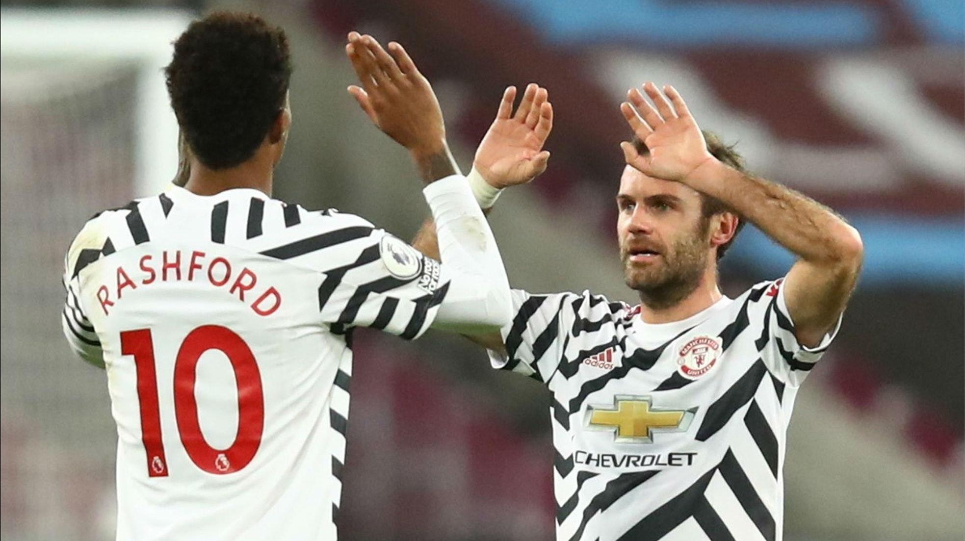 El Manchester remonta contra el West Ham