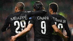Mbappé, Cavani y Neymar, tres cracks que podrían separar sus caminos