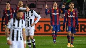 Messi abre la lata y queda a un gol de 'O Rei' Pelé