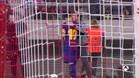 El momento en el que el aficionado besa a Leo Messi
