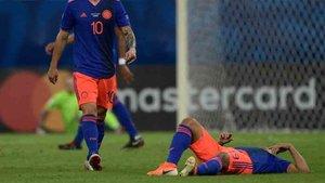 Muriel acabó lesionado ante Argentina