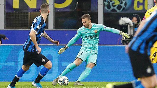 Neto hizo que el Barça no echara de menos a Ter Stegen