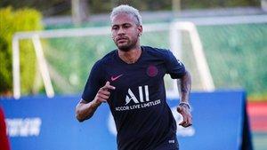 Neymar se entrenará en solitario
