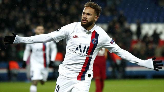Neymar se sumó a la fiesta del PSG con un gol cortesía de Mbappé