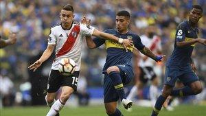 Palacios es titular indiscutible en River Plate