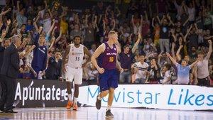 El Palau Blaugrana vibró el miércoles con el triunfo del Barça Lassa