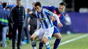 Partido entre la Real Sociedad y el Eibar
