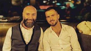 Pjanic, junto a su amigo Adis Junuzovic