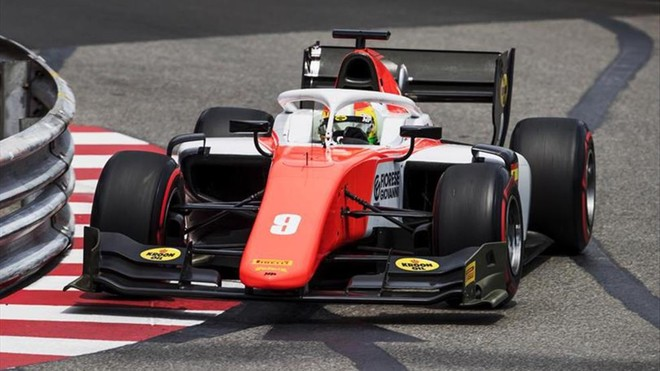 Roberto Merhi sube al podio en la carrera de F2 de Mónaco