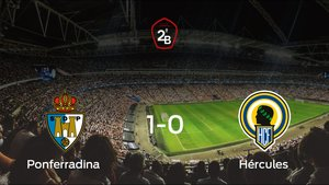La Ponferradina se impone por 1-0 frente al Hércules y consigue una plaza en Segunda División