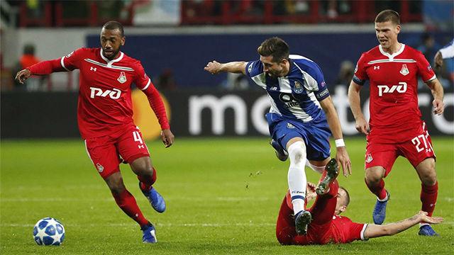 El Porto vence al Lokomotiv a domicilio con Casillas como protagonista