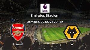 Previa del encuentro: el Arsenal recibe al Wolverhampton Wanderers en la décima jornada