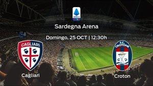 Previa del encuentro: el Cagliari recibe al Crotone en la quinta jornada