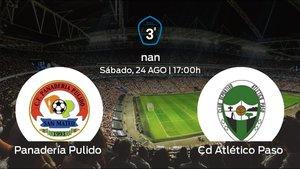 Previa del partido: primer partido de la Tercera División para el Panadería Pulido contra el CD Atlético Paso