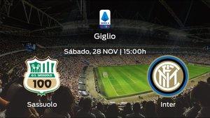 Previa del partido: el Sassuolo recibe al Inter