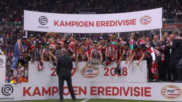El PSV, campeón de la Eredivisie