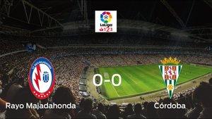 El Rayo Majadahonda y el Córdoba empatan a 0 en el Cerro del Espino
