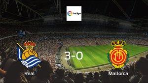 Real Sociedad see off Mallorca with a 3-0 at San Sebastián