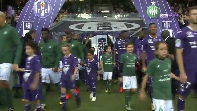 Resumen del Saint Etienne - Olympique de Lyon (0-5)