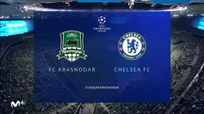 El resumen de la goleada del Chelsea al Krasnodar