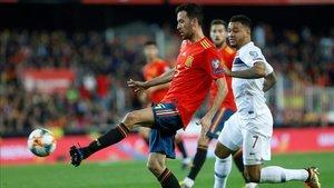 Sergio Busquets, será el único jugador del Barça ante Noruega
