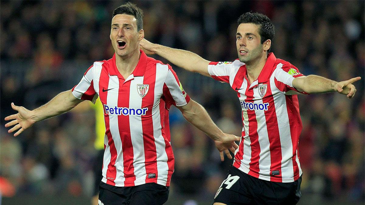 Susaeta, sobre Aduriz: Llegó al Athletic y empezó a marcar como un loco