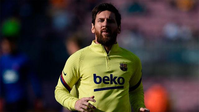 Tebas: Messi no es la solución para que el fútbol italiano salga de la crisis