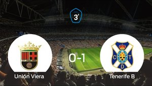El Tenerife B gana 0-1 al Unión Viera en el Pepe Gonçalvez