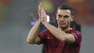 Thomas Vermaelen ha jugado esta temporada en la Roma en calidad de cedido por el FC Barcelona