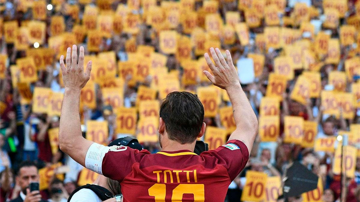 Totti, la leyenda de la Roma