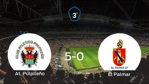 Tres puntos para el casillero del At. Pulpileño tras pasar por encima a El Palmar (5-0)