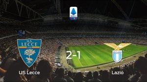 Triunfo 2-1 del US Lecce ante el Lazio