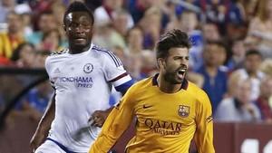 Uno de los últimos encuentros ante el Chelsea fue en una gira