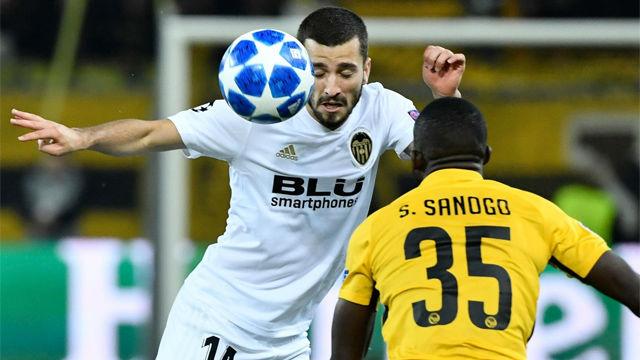 El Valencia tampoco puede con el Young Boys