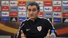Valverde no aclaró su futuro tras el partido del Calderón