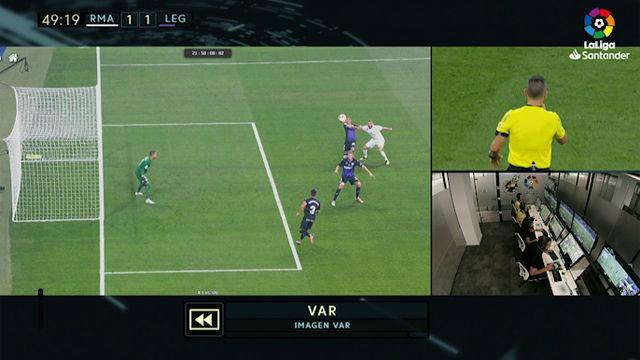 El VAR confirmó el segundo gol de Benzema - Liga