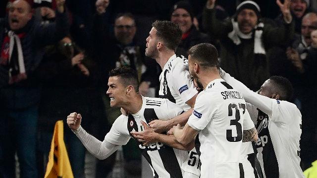 Vea los goles del Juventus - Atlético de Madrid