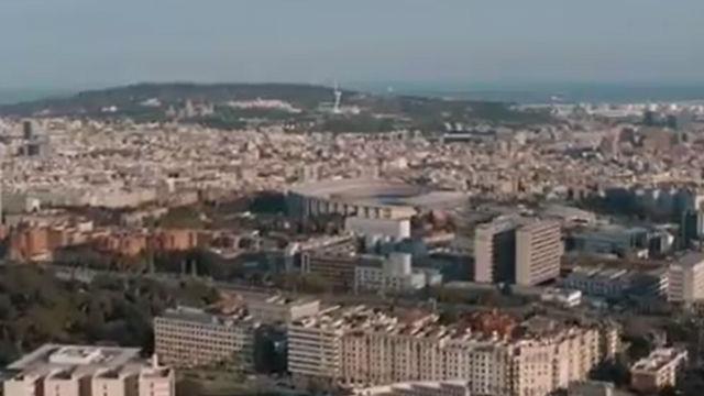 El vídeo de Griezmann en apoyo a la ciudad de Barcelona en su lucha conta el Coronavirus