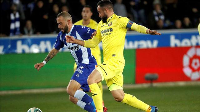 El Villarreal asalta Mendizorroza en el último suspiro