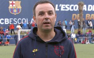 Xavier Marcé era el responsable de la FCBEscola